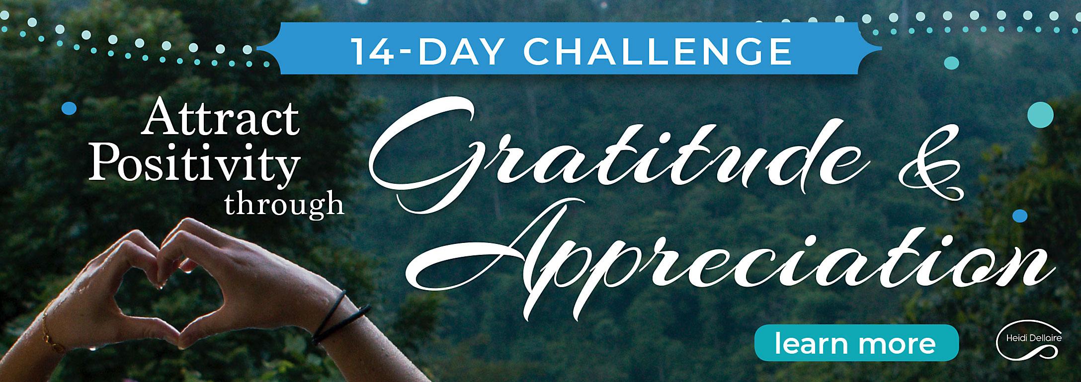 Gratitude Appreciation Challenge